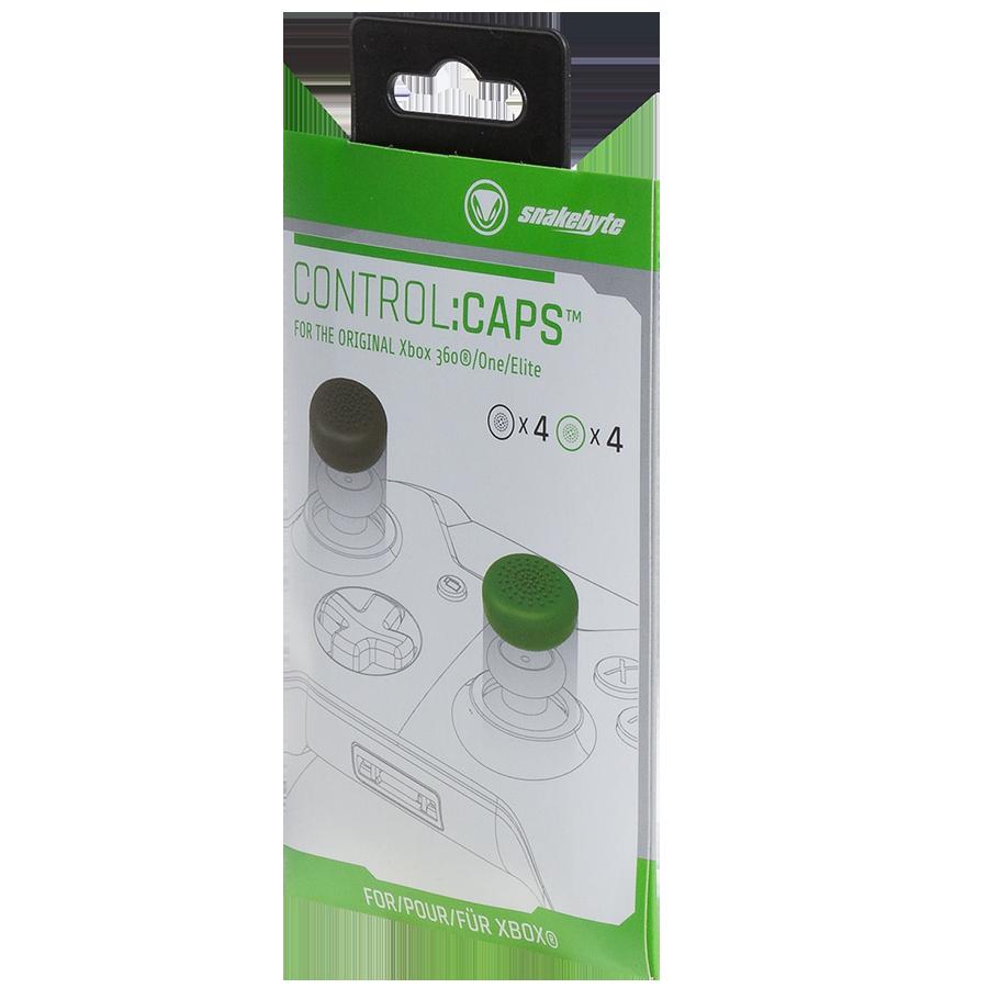 snakebyte Control:Caps™ Xbox (4x czarne 4x zielone) - 2