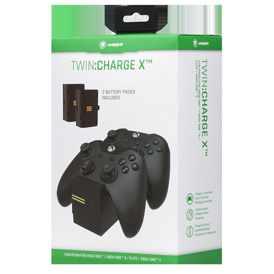 snakebyte ładowarka do kontrolera Xbox One TWIN:CHARGE X czarna - 3