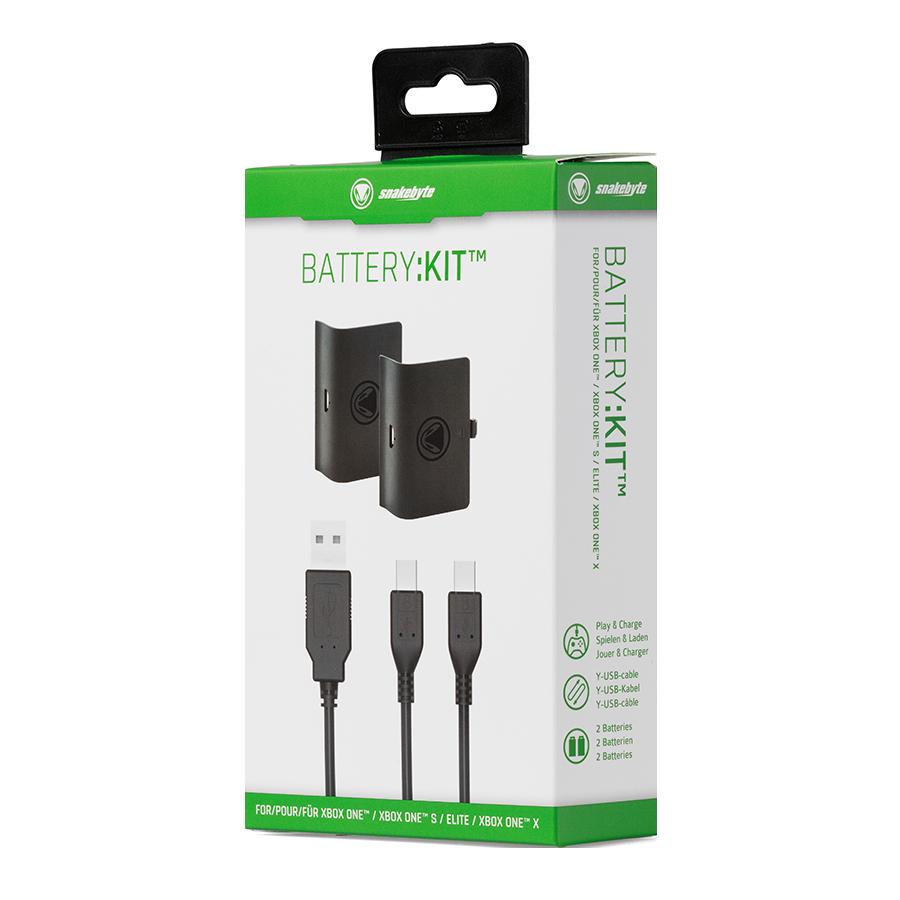snakebyte zestaw akumulatorów do Xbox ONE BATTERY: KIT Black - 4