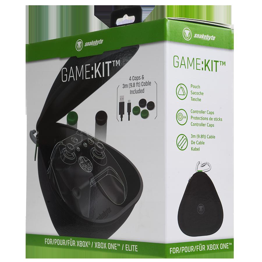 snakebyte Zestaw: pokrowiec z akcesoriami do Pada Xbox One Game:Kit™ - 4