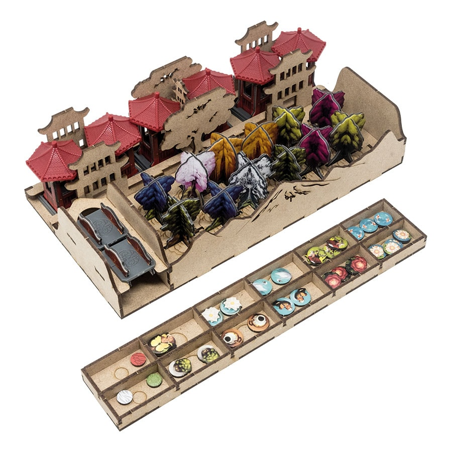 Tang Garden (Base Game Or With Ghost Stories; Golden Age Exp) Organizer Insert - 5