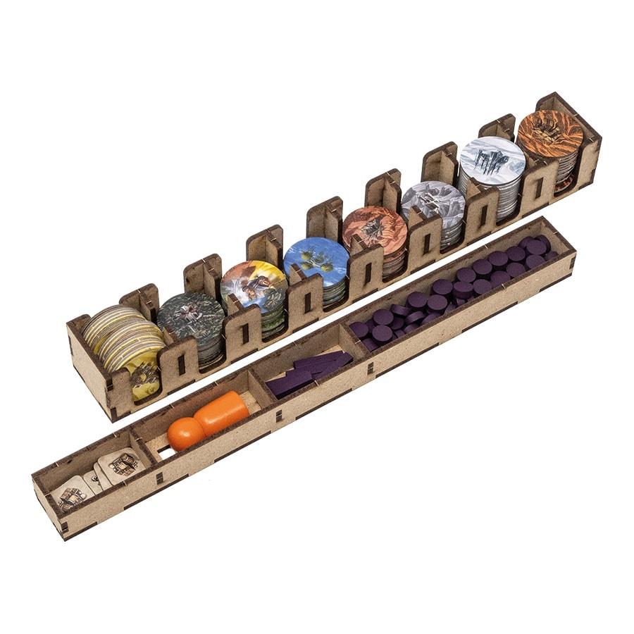 Terra Mystica All In (base + Merchants of the Seas; Fire & Ice exp)Organizer Insert - 7