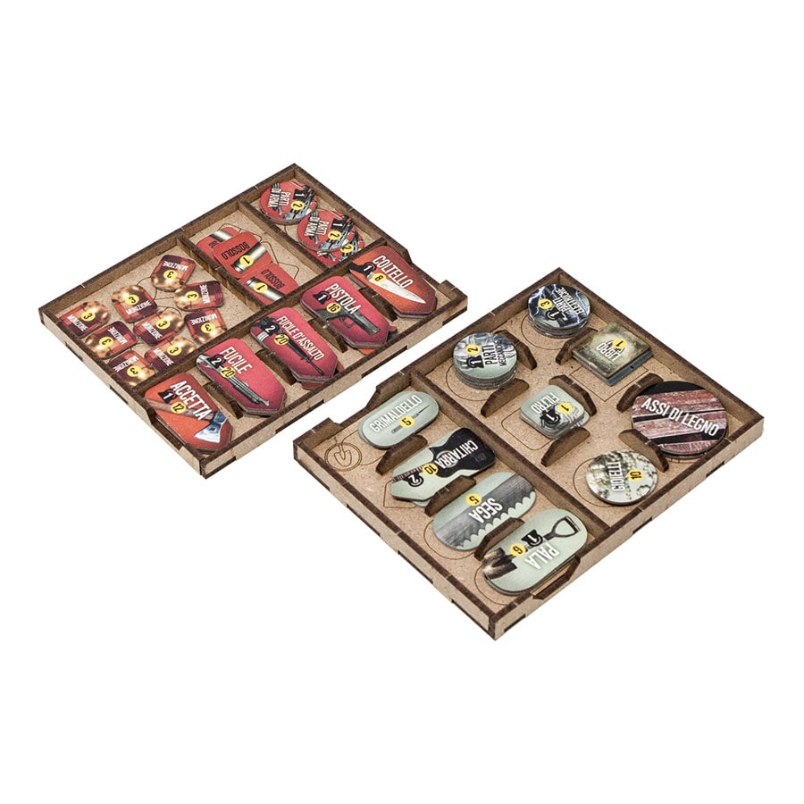 This war of mine (base game or with exp Tales from the Ruined City) Organizer Insert - 4