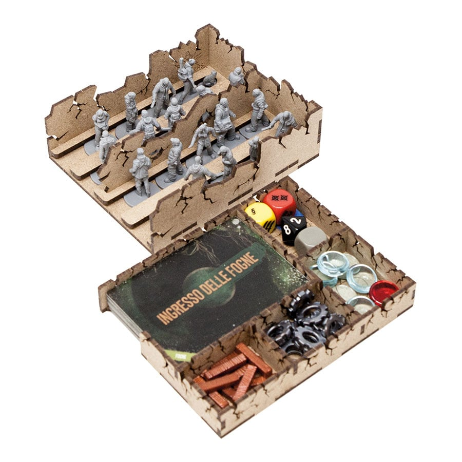 This war of mine (base game or with exp Tales from the Ruined City) Organizer Insert - 6