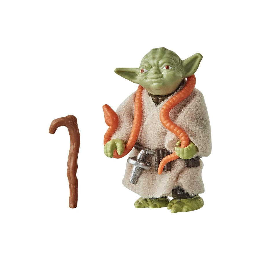 Yoda - Star Wars S3 Retro Figures Assortment - Hasbro Green - 2