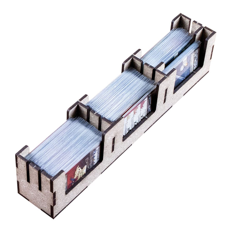 Zombicide Black Plague (base game or with Wulfsburg expansion) Organizer Insert - 6