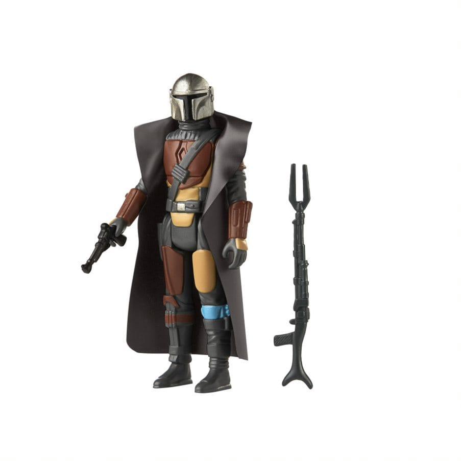 The Mando (The Mandalorian Series) - Star Wars S3 Retro Figures Assortment - Hasbro Multi-Colored - 2