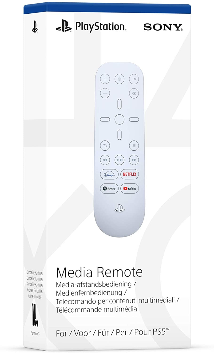 Sony Official Playstation 5 Media Remote (PS5) - 1