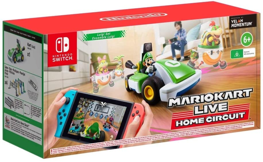 Mario Kart Live: Home Circuit - Luigi Set Nintendo Switch Gaming - 1