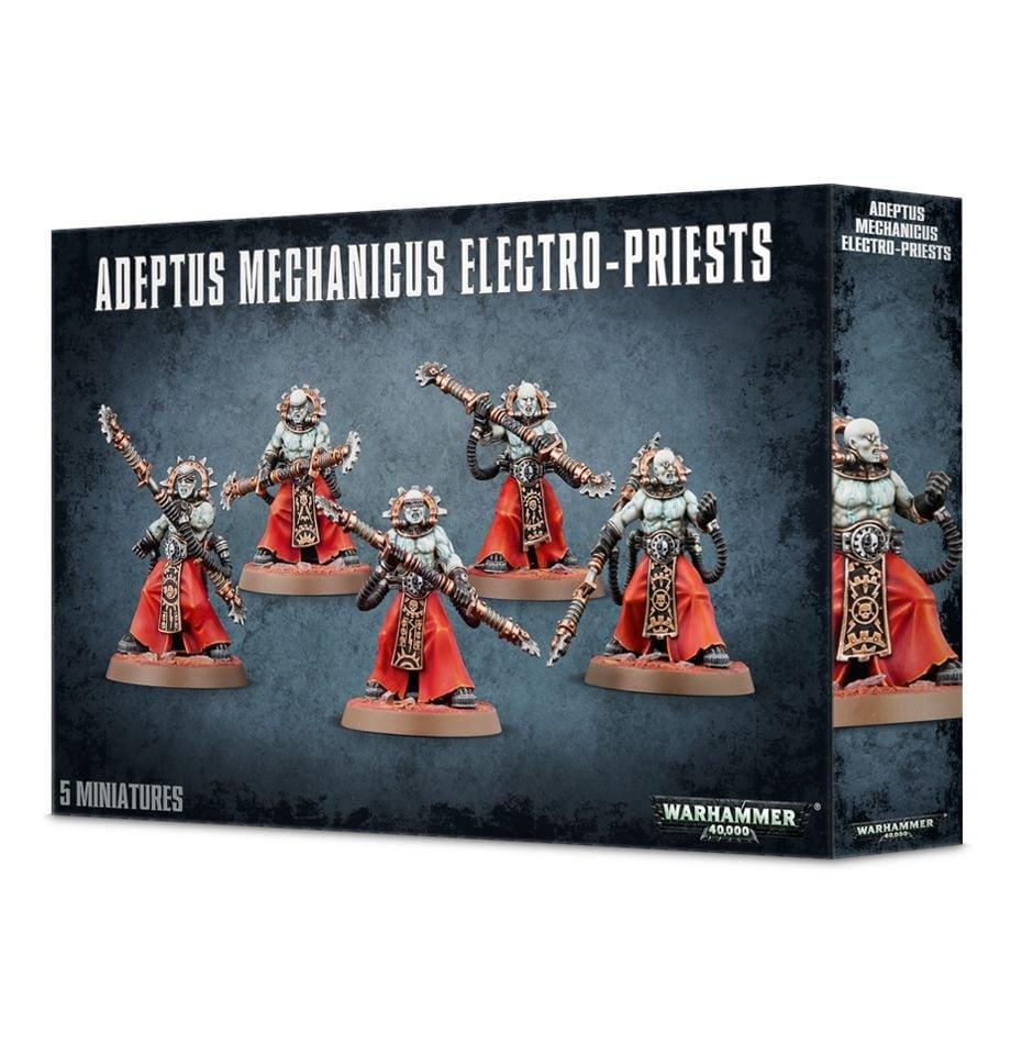 Adeptus Mechanicus Electro-Priests - 1