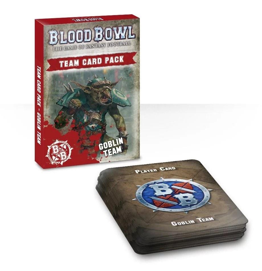 Blood Bowl: Goblin Team Card Pack - 1