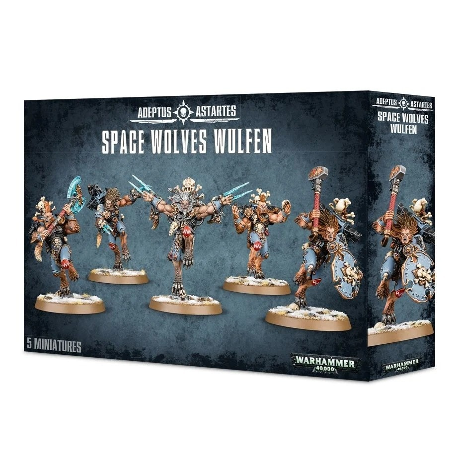 Space Wolves Wulfen - 1