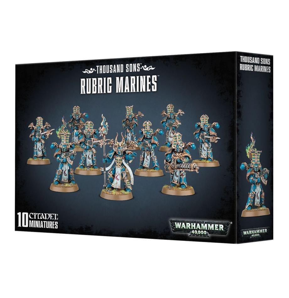 Thousand Sons Rubric Marines - 1