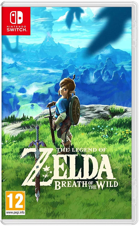 The Legend of Zelda: Breath of the Wild (Nintendo Switch) Nintendo Switch Gaming - 1