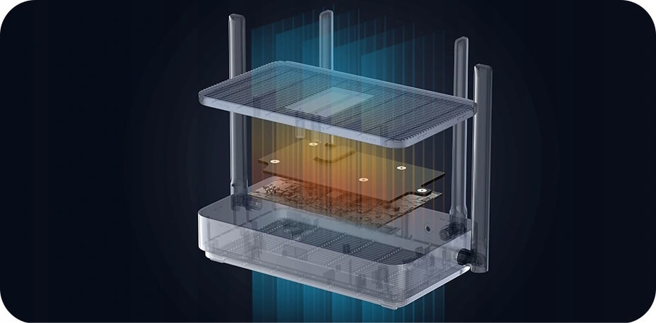 Router Xiaomi Mi Router Ax1800 Wifi 6 1800Mb/S Gb - 5