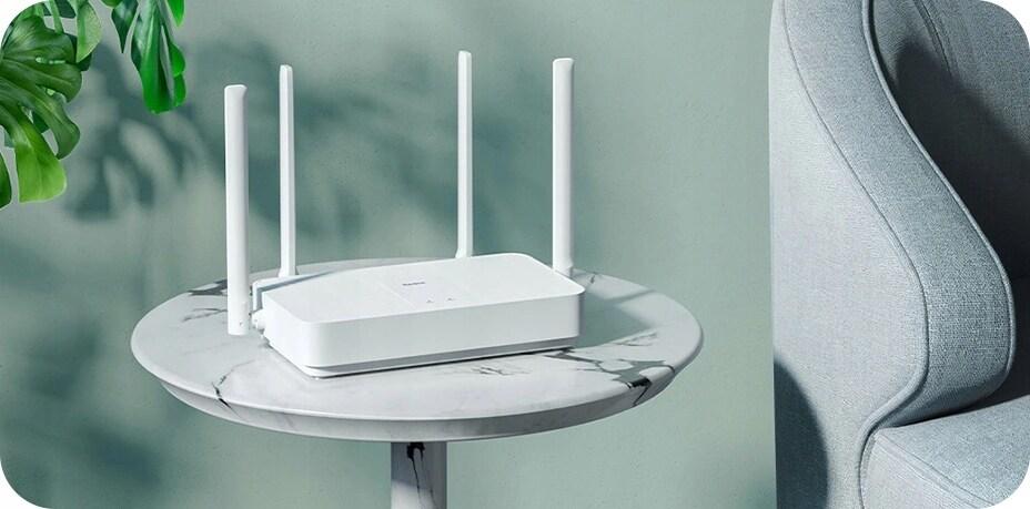 Router Xiaomi Mi Router Ax1800 Wifi 6 1800Mb/S Gb - 2