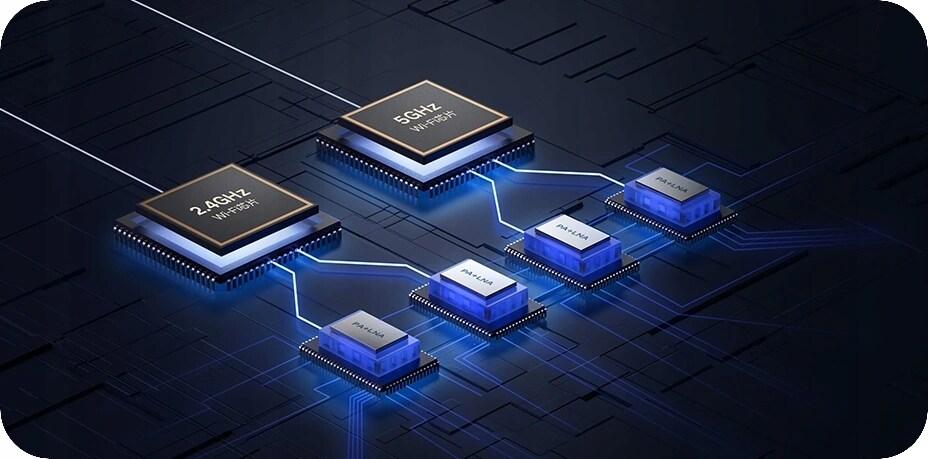 Router Xiaomi Mi Router Ax1800 Wifi 6 1800Mb/S Gb - 3