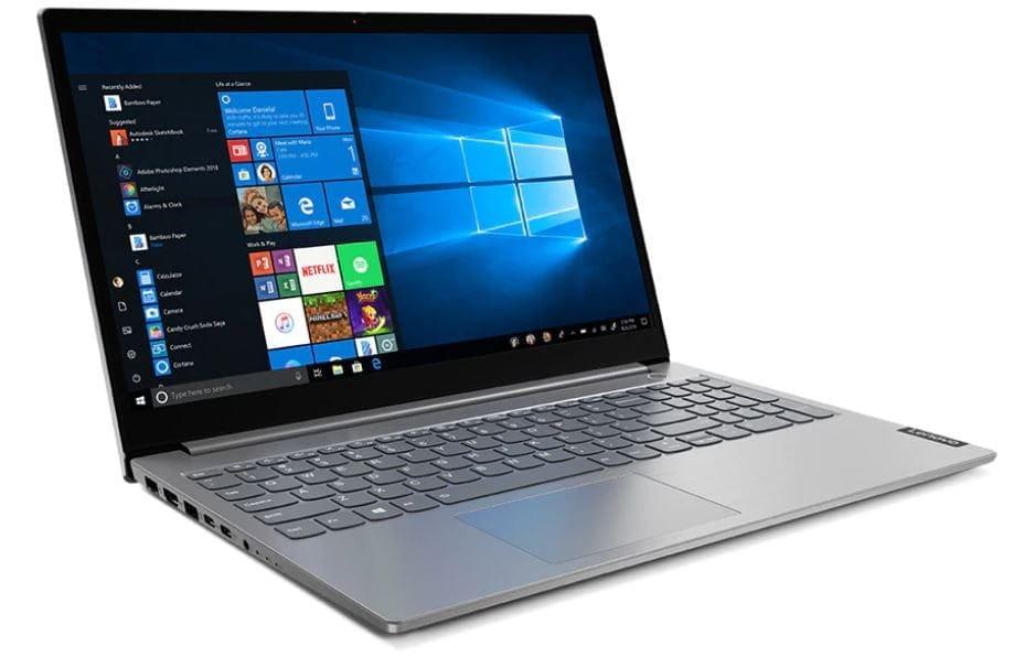 "Lenovo Laptop ThinkBook 15p 20V3000APB W10Pro i7-10750H/16GB/1TB/GTX1650Ti 4GB/15.6""/UHD/Mineral Gre - 1"
