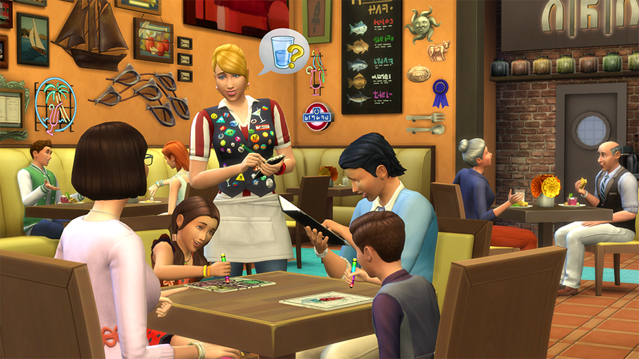 The Sims 4: Dine Out Origin Key GLOBAL - 4