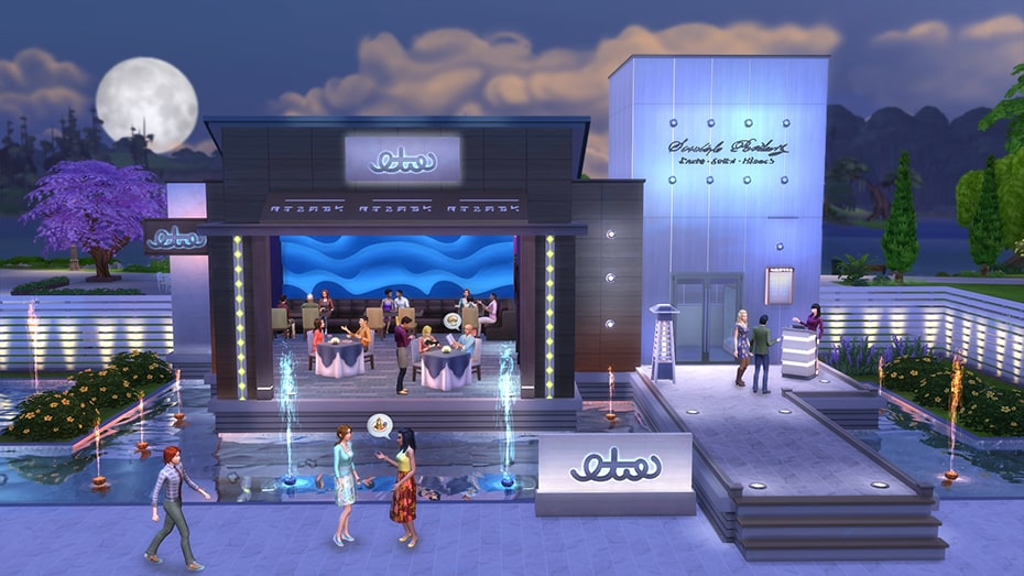 The Sims 4: Dine Out Origin Key GLOBAL - 2