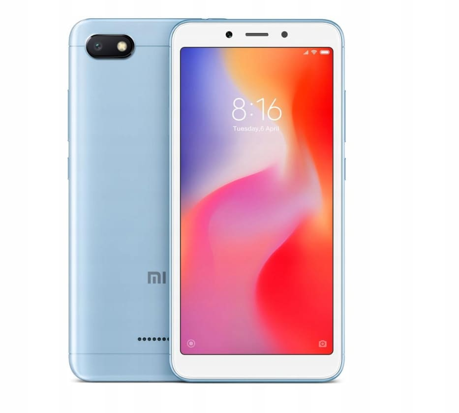 Xiaomi Redmi6A blue 2/16GB, DS, 4G  MZB6343EU - 1