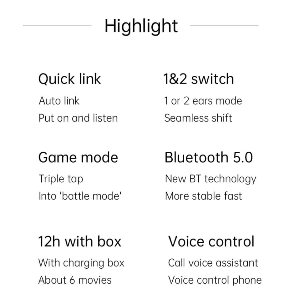 Xiaomi Redmi AirDots S Wireless Stereo Earphone - 10