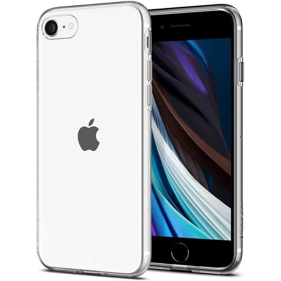 Etui Spigen Liquid Crystal Apple iPhone SE 2020/8/7 Crystal Clear - 1