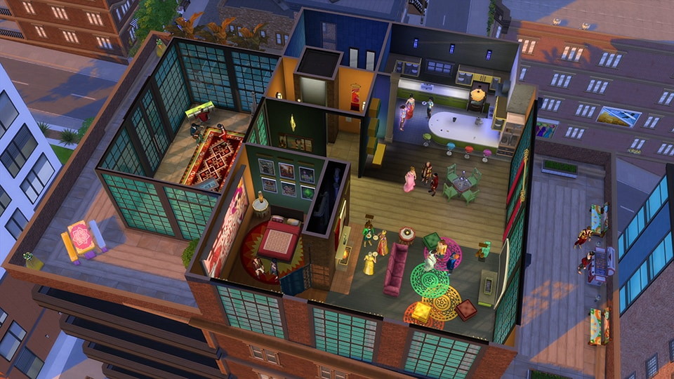 The Sims 4: City Living Origin Key GLOBAL - 3