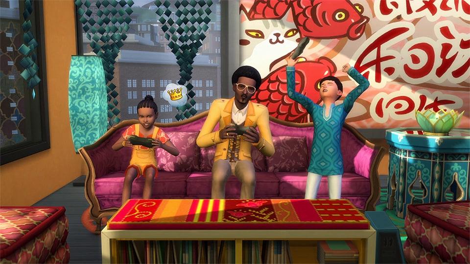 The Sims 4: City Living Origin Key GLOBAL - 4