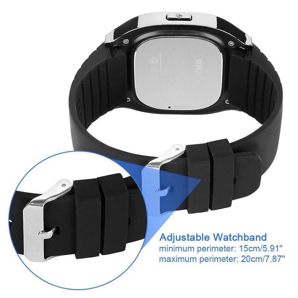 M26 Bluetooth Touch Screen Smart Watch  Black - 6