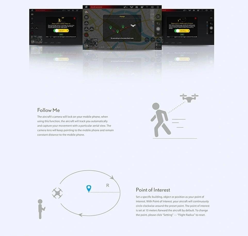 MJX B5W GPS 5G Wifi Upgraded RC Drone - 4K Camera - 7