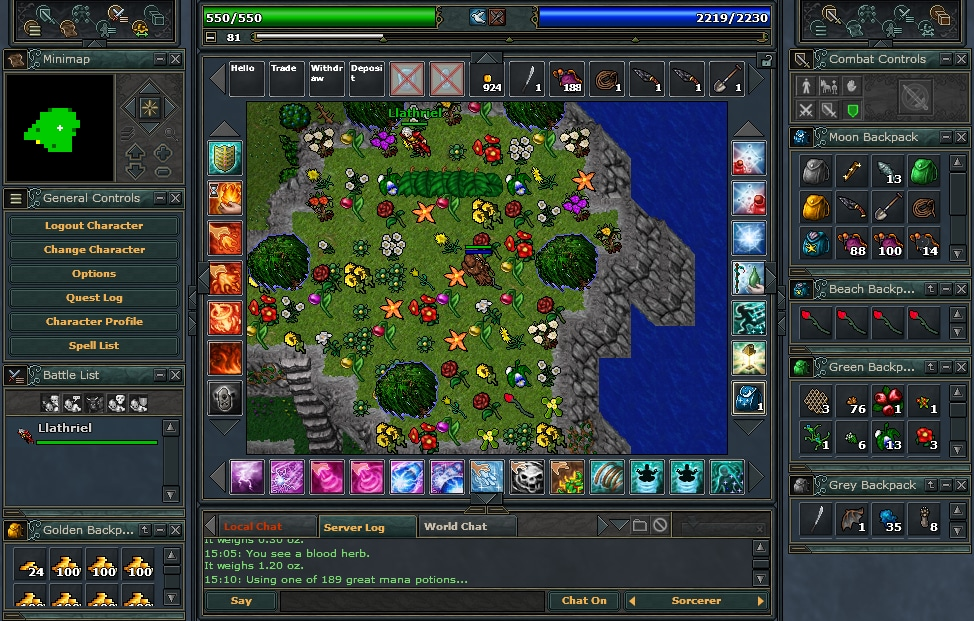 Tibia PACC Premium Time 30 Days Cipsoft Code GLOBAL - 4