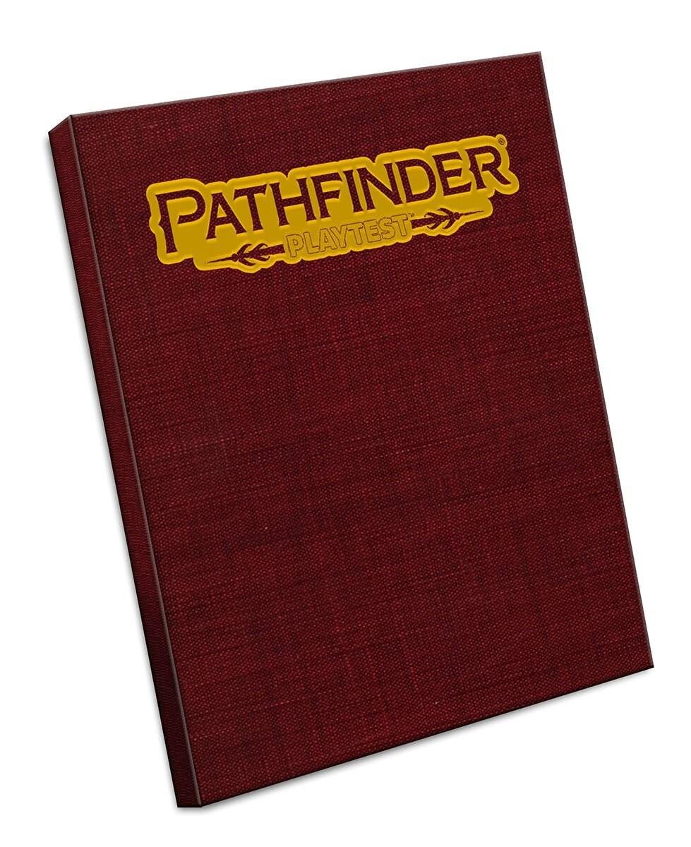 Pathfinder RPG Playtest Rulebook Special Edition - 1