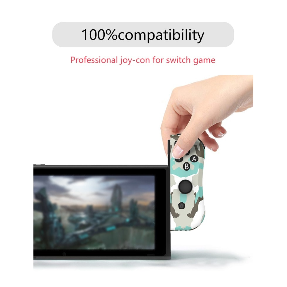 Wireless Joysticks for Nintendo Switch (L and R) Yellow - 2