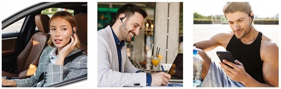 Słuchawka Feegar Bond Pro Bluetooth 5.1 16H Cvc8.0 - 9