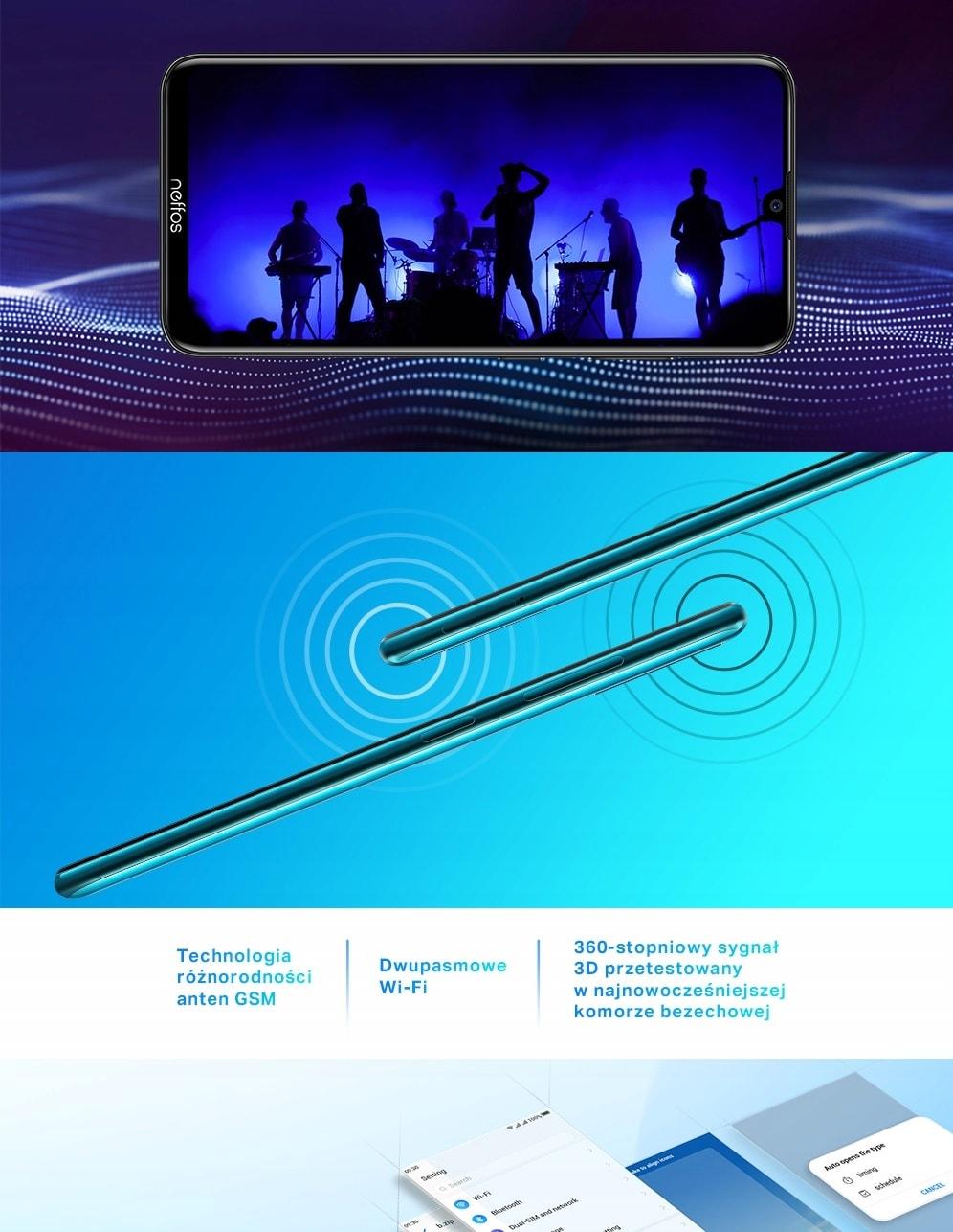 Smartfon Tp-Link Neffos X20 Pro 3/64Gb 4100Mah - 6