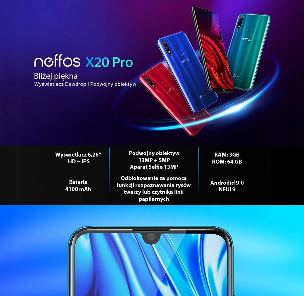 Smartfon Tp-Link Neffos X20 Pro 3/64Gb 4100Mah - 5