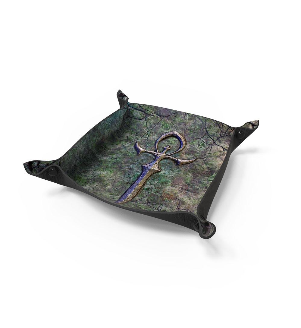 Dice Tray For RPG Games - Vampiric Ankh - 1