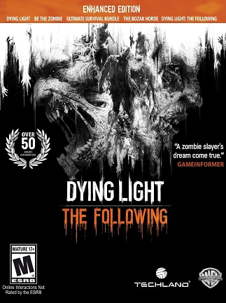 Dying Light: The Following - Enhanced Edition Key Steam GLOBAL