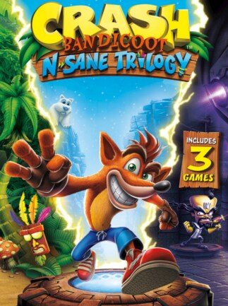 Crash Bandicoot N. Sane Trilogy Steam Key GLOBAL