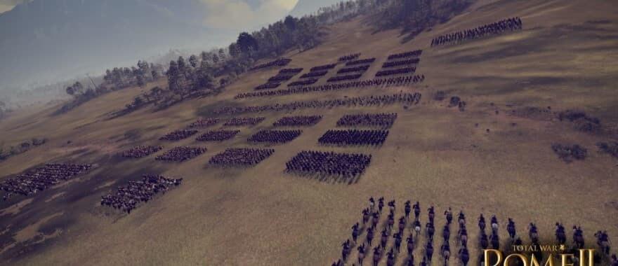 Total War 2 Rome Battle