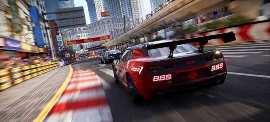 Racing in city