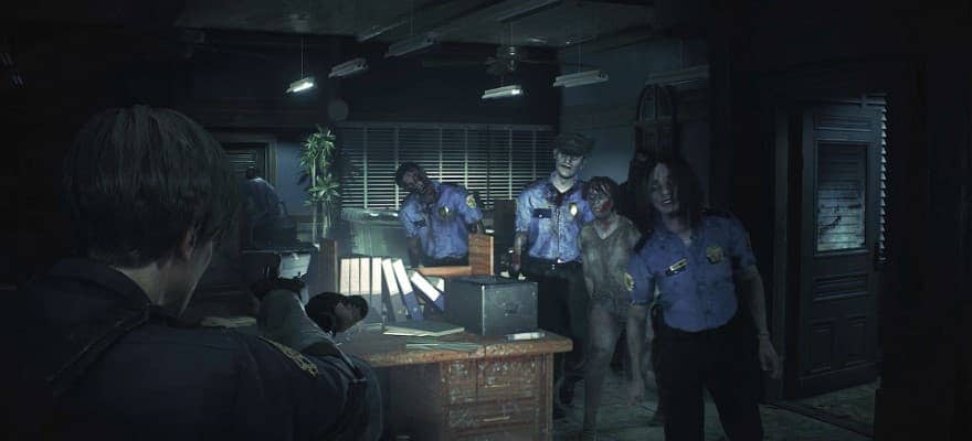 Zombies in Racoon City