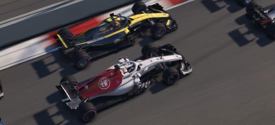 racing in f1 2018