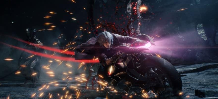 Dante in Devil May Cry 5