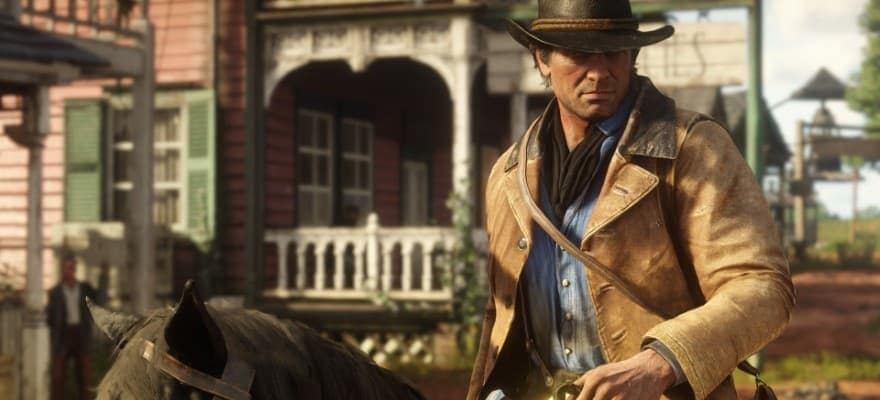 Horse riding in Red Dead Redemption 2