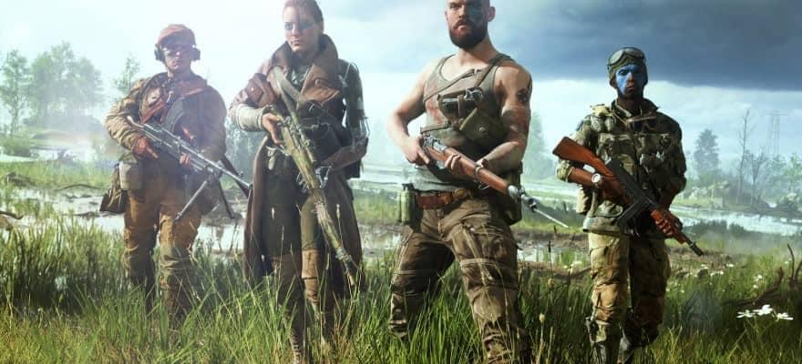 Protagonists in Battlefield 5