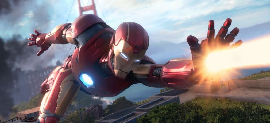 Iron man in Avenger computer game