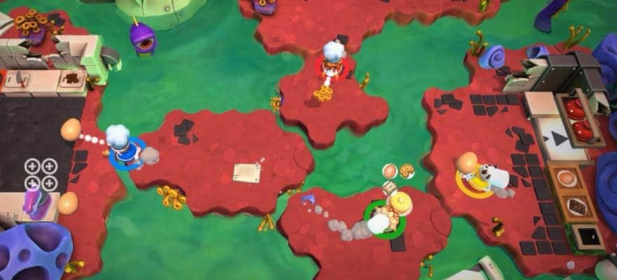 Multiplayer in Overcooked2