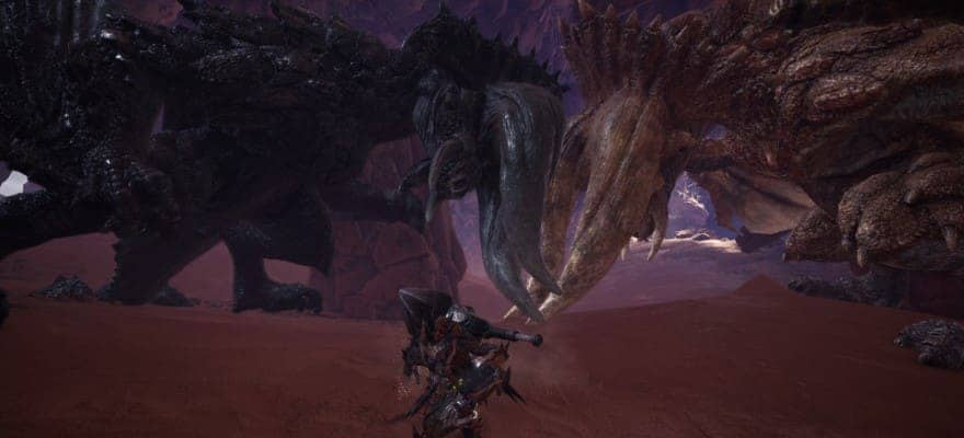 Monsters in MHW game